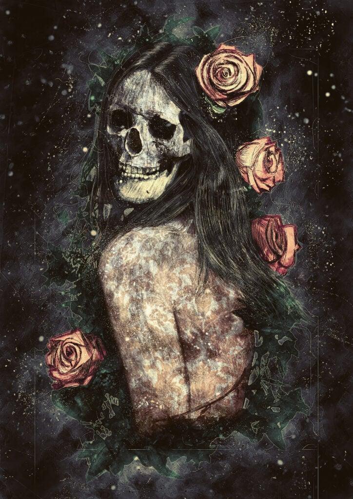 Morbid Beauty painting