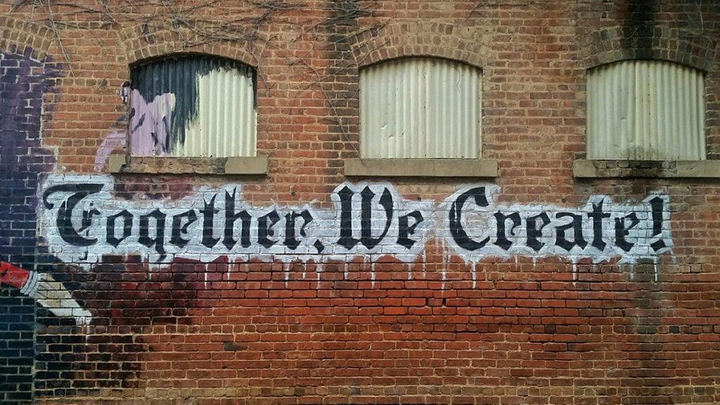 Together, We Create - graffiti art